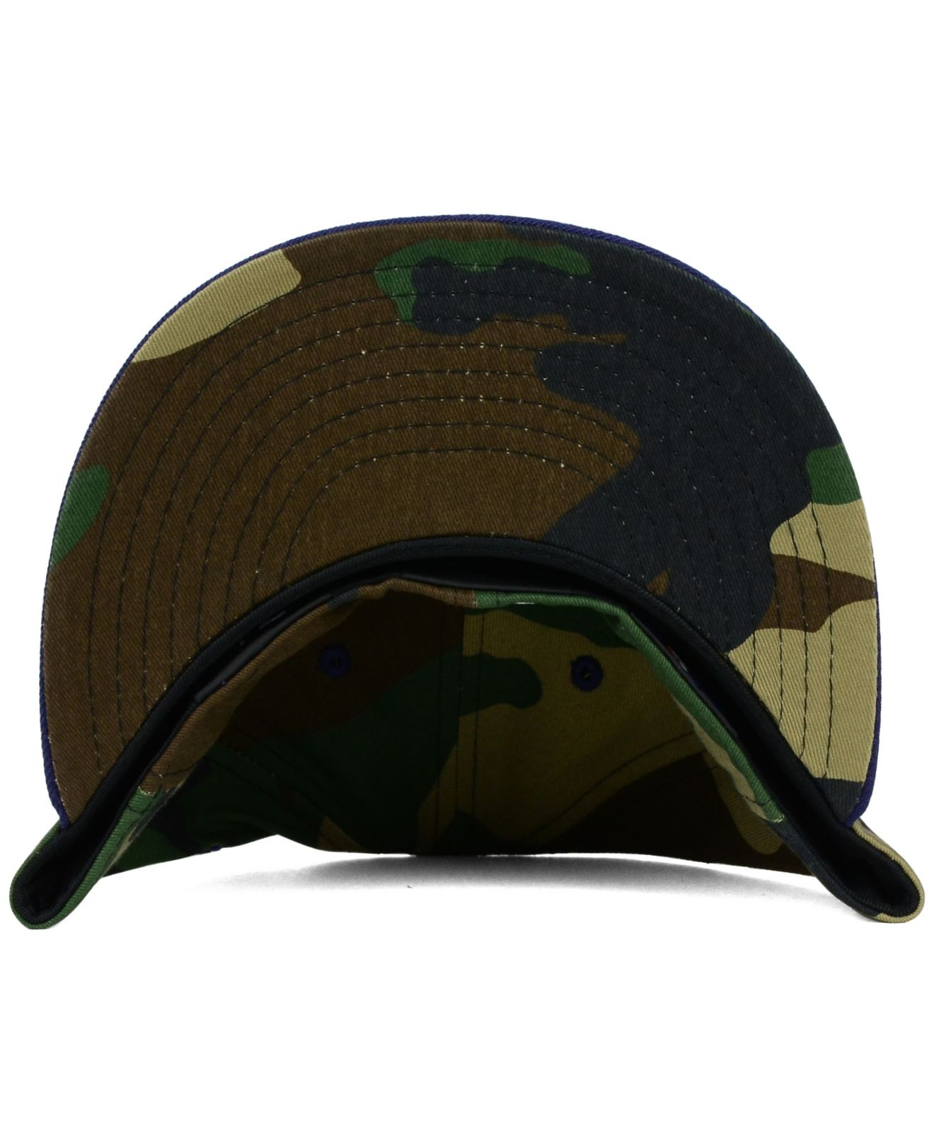 timeless design f2bea 05e74 ... purchase lyst ktz cleveland indians camo pop 59fifty cap in green for  men b3b5d caff9 ...