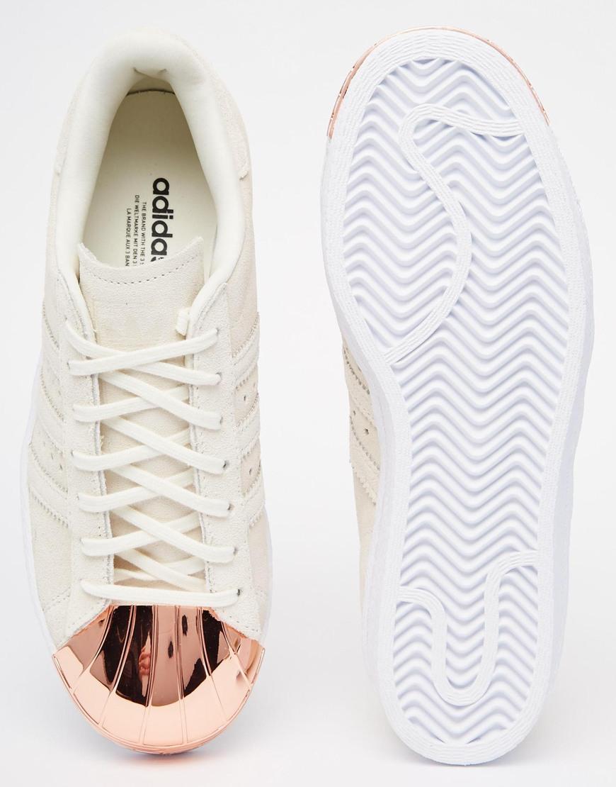 huge discount 6d71a fa311 adidas Originals Originals Superstar 80s Rose Gold Metal Toe Cap ...