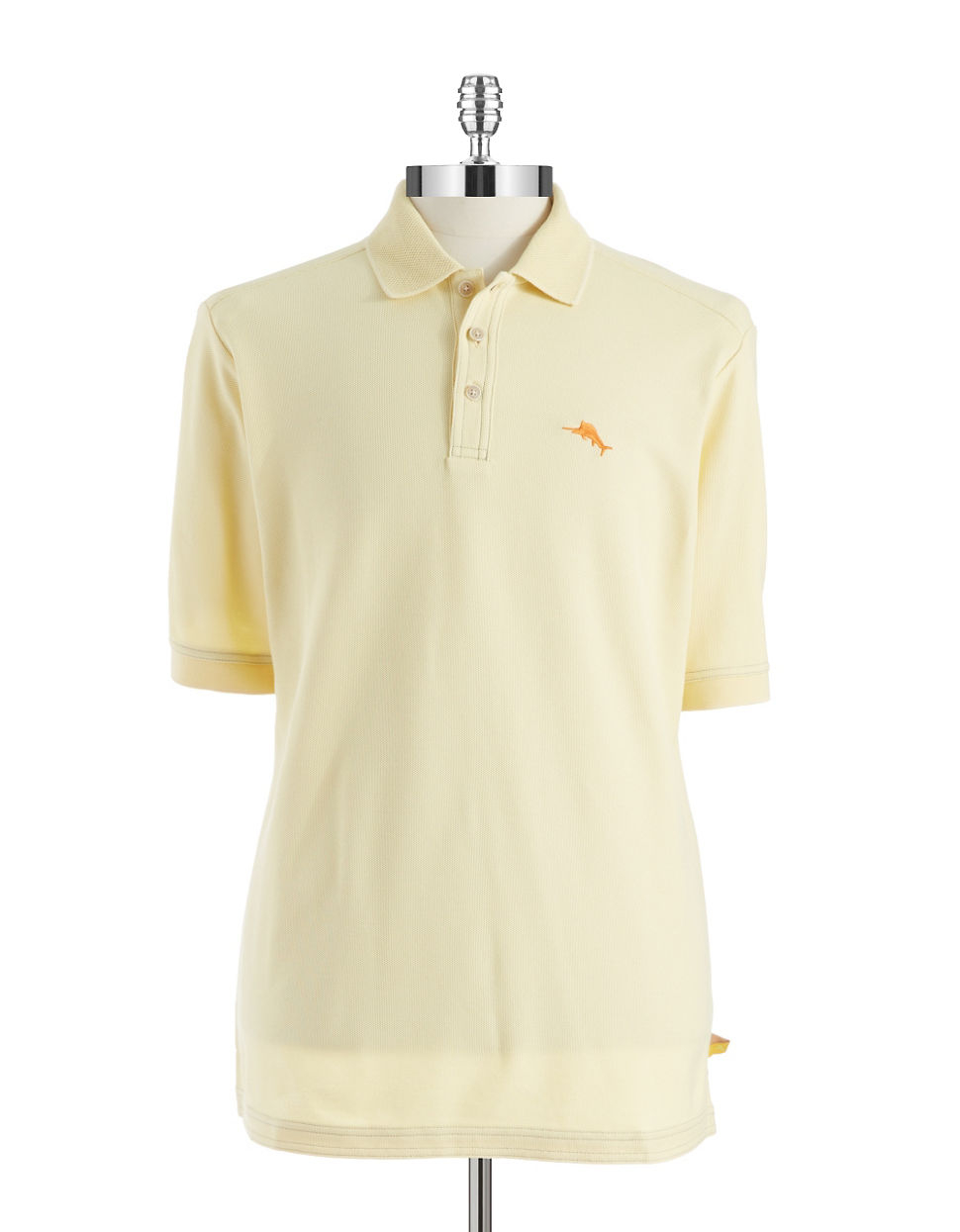 Tommy bahama emfielder polo shirt in beige for men sun for Tommy bahama polo shirts on sale