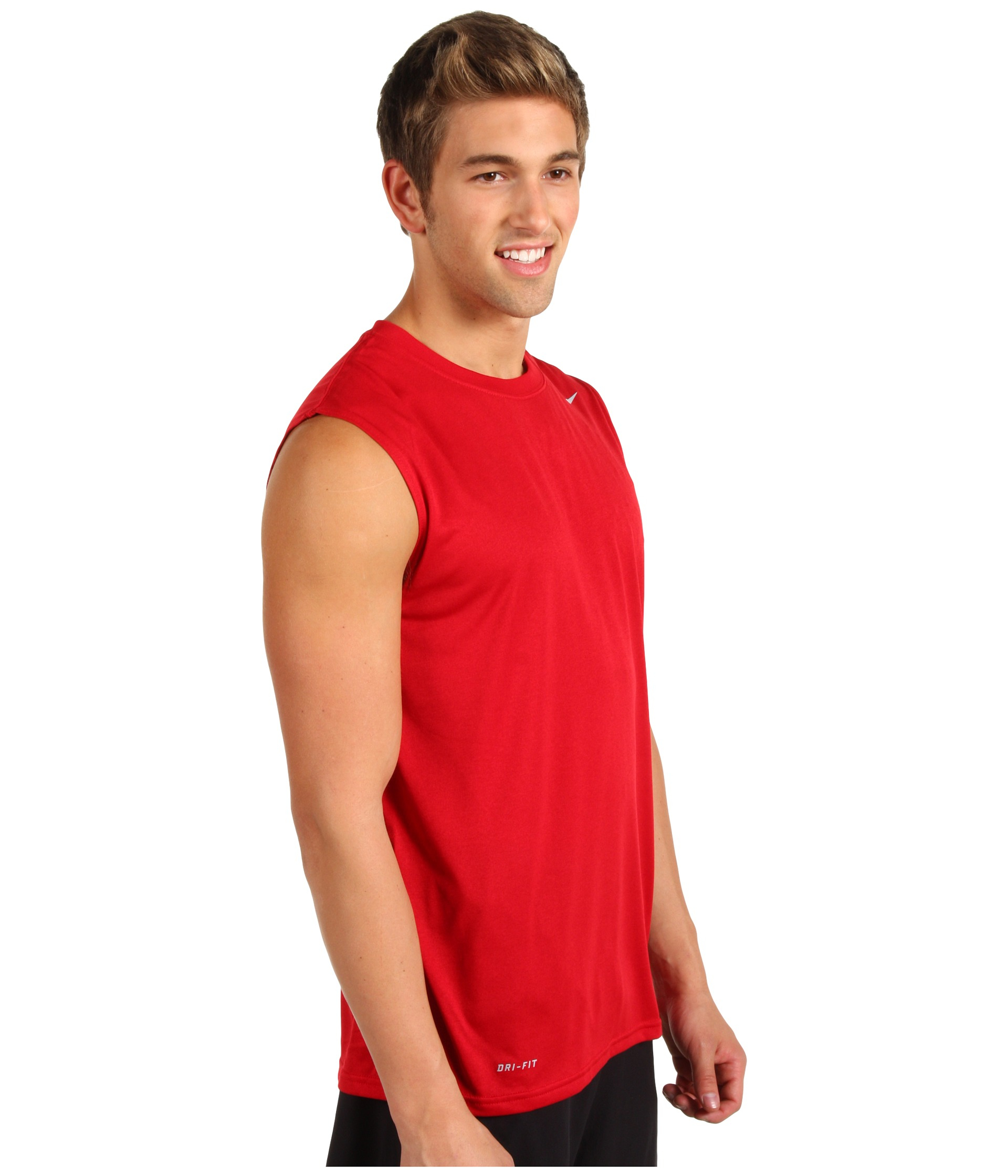604a6931 Nike Dri-fit Legend Sleeveless Training Shirt in Red for Men - Lyst
