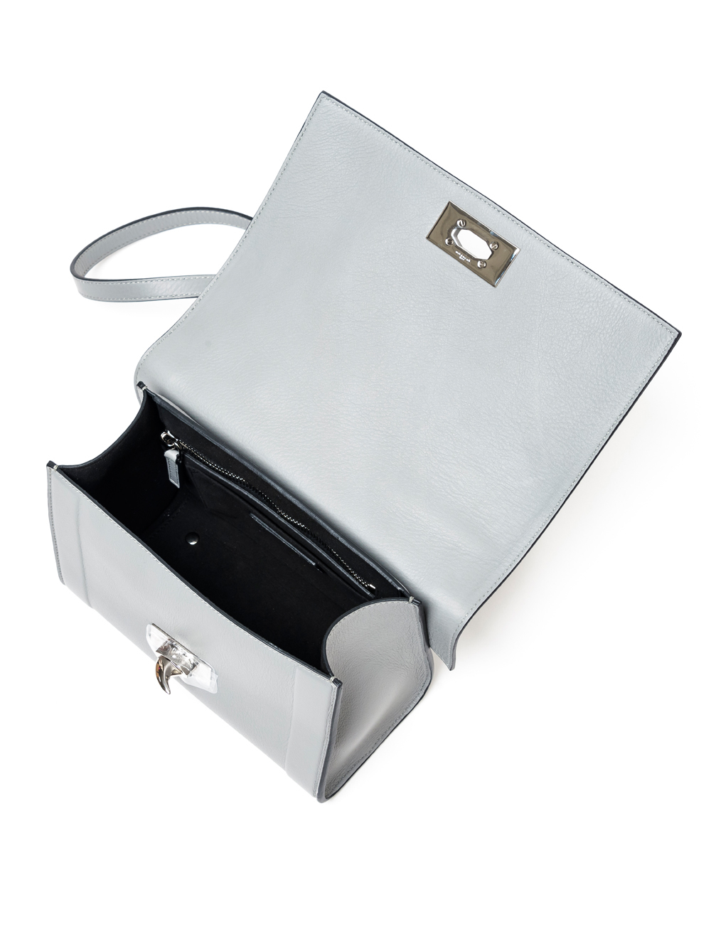 baa12bd8d9 Lyst - Givenchy Mini Shark Bag in Gray