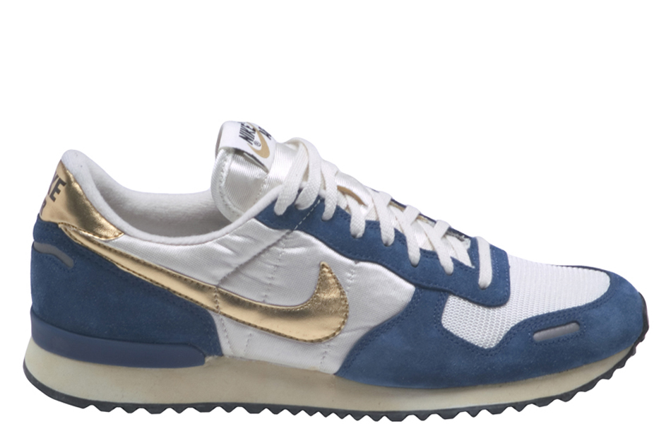 lyst nike air vortex vintage low top sneakers in blue. Black Bedroom Furniture Sets. Home Design Ideas