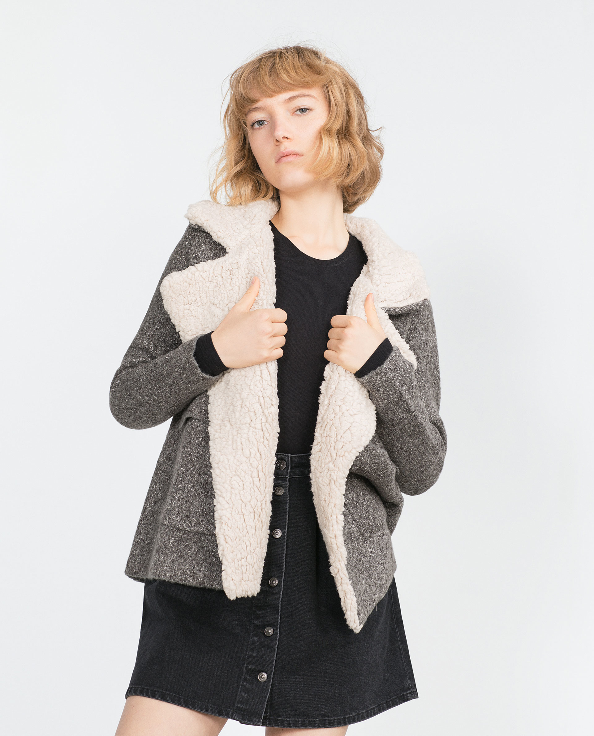 Grey Short Jacket   Outdoor Jacket