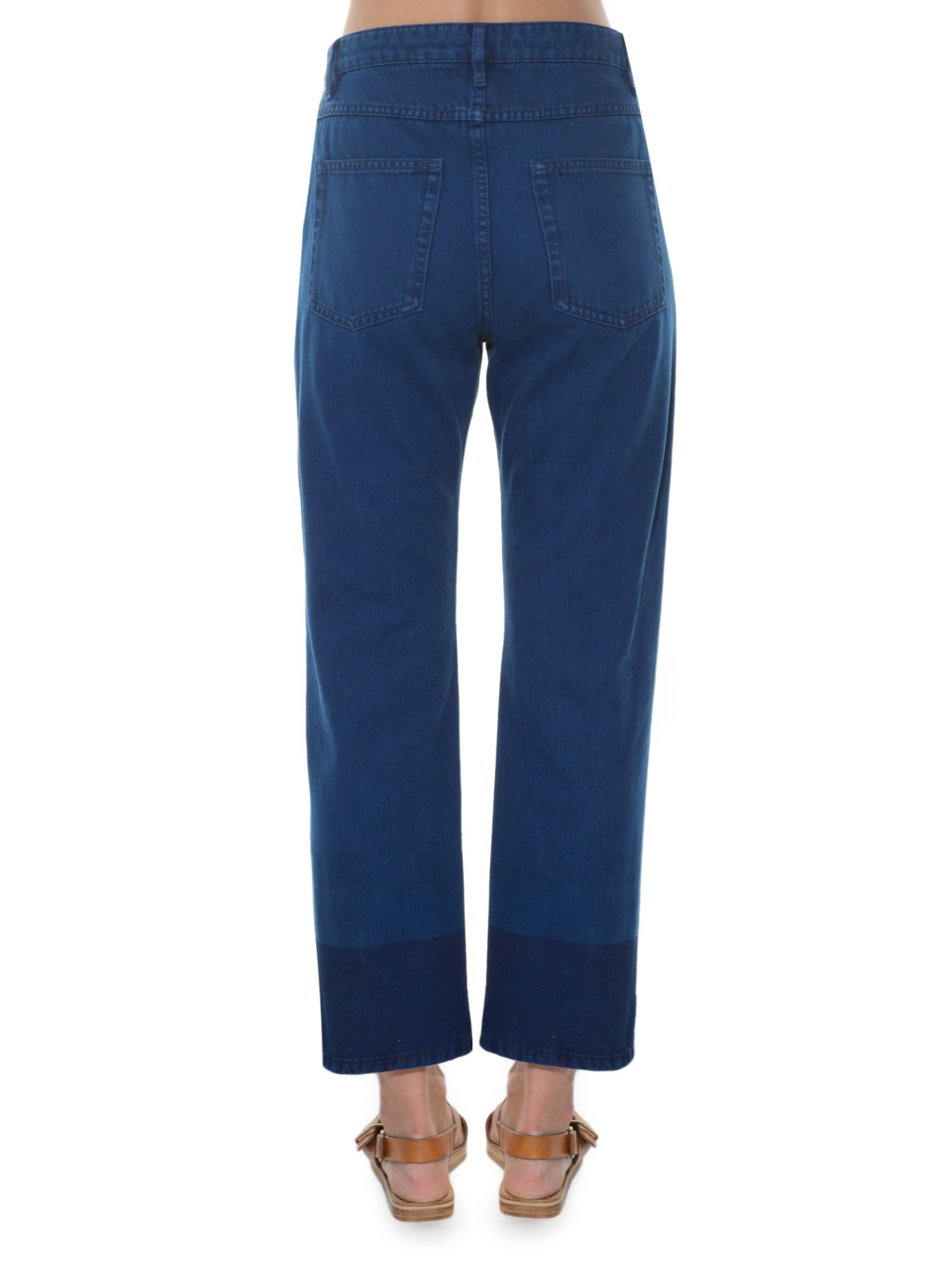 cropped straight-leg jeans - Blue Isabel Marant Clearance Good Selling All Size Free Shipping Fast Delivery From China Cheap Price GysNWk0274