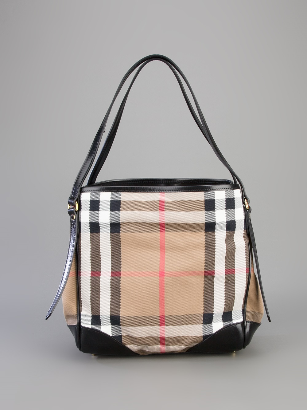 Lyst Burberry Small Canterbury Tote In Brown