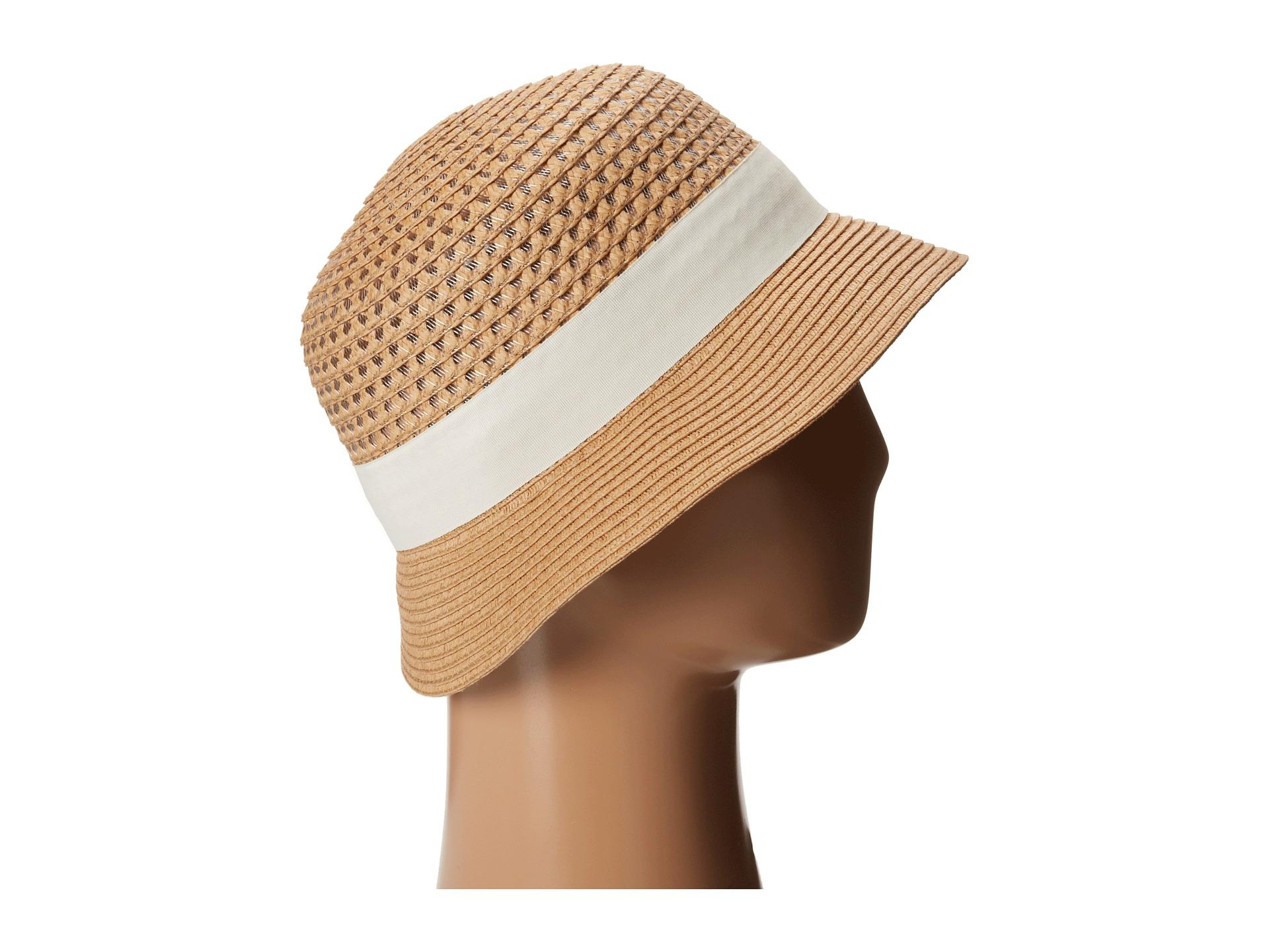 Lyst - San Diego Hat Company Pbs1020 Open Weave Bucket in Brown 5b39de93c49f