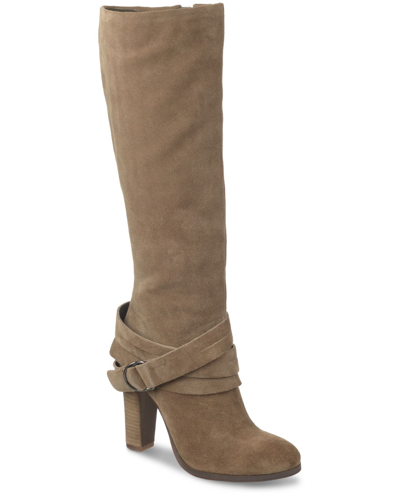 carlos by carlos santana mystery dress boots in brown lyst