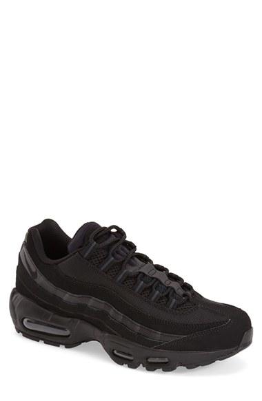 Nike Air Max 95 En Lyst No Coser 'zapatilla En 95 Negro Para Hombres b0b5f6