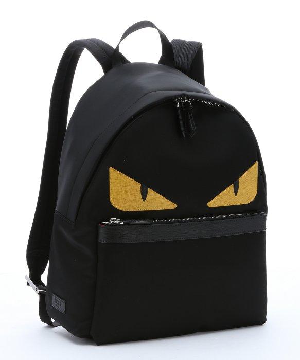 Fendi Faces Backpack Nylon And Leather iA3klK0VG