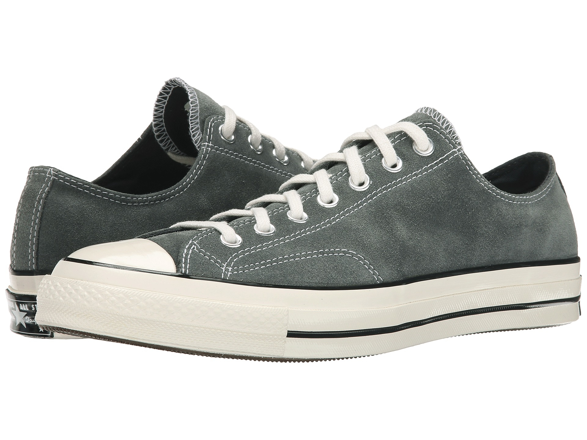 Lyst - Converse Chuck Taylor® All Star® 70 Ox Suede in Gray for Men 706e43350