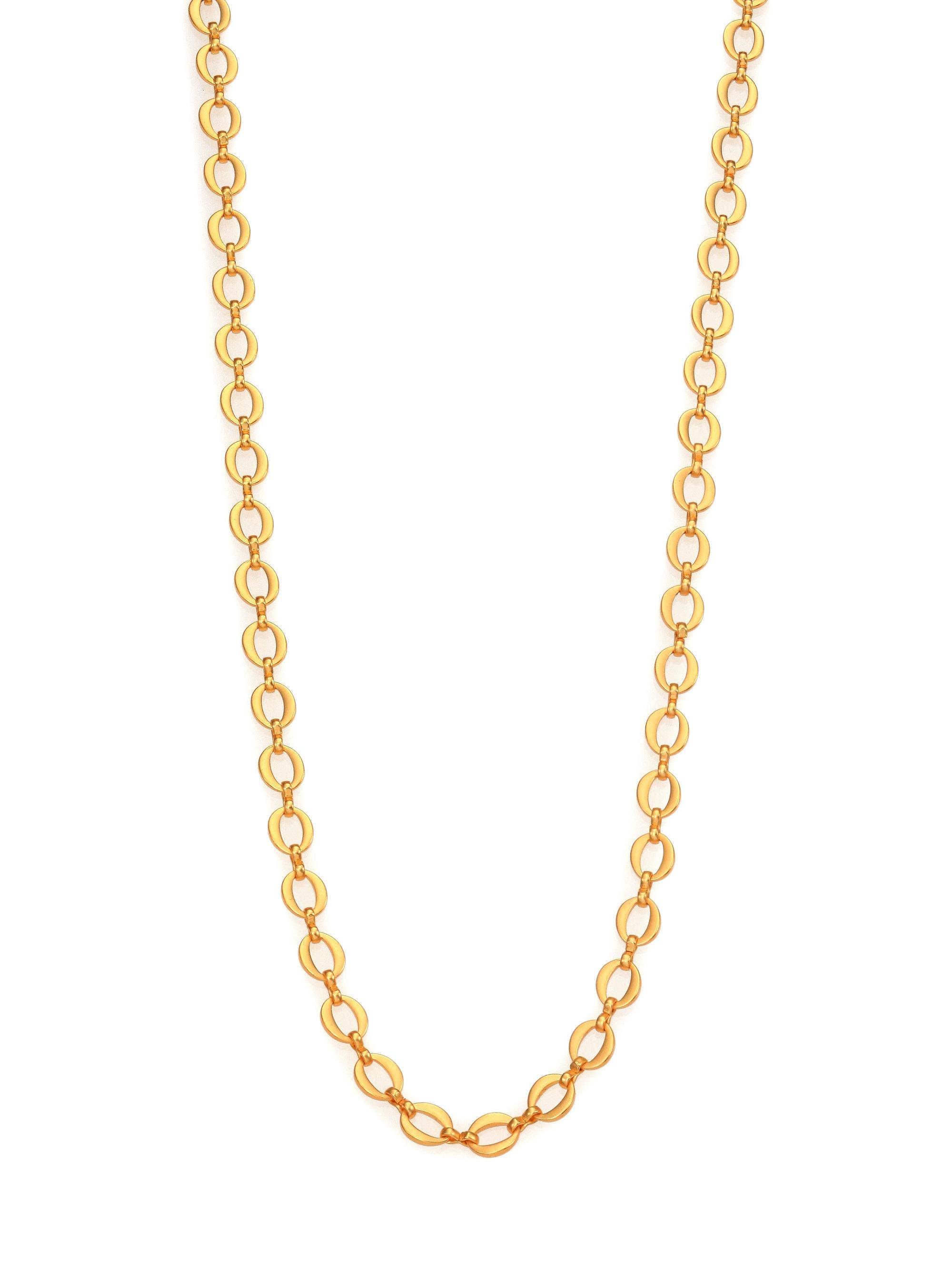 Stephanie Kantis Galaxy Chain Necklace In Metallic Lyst