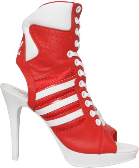 for adidas lace up high heels in lyst
