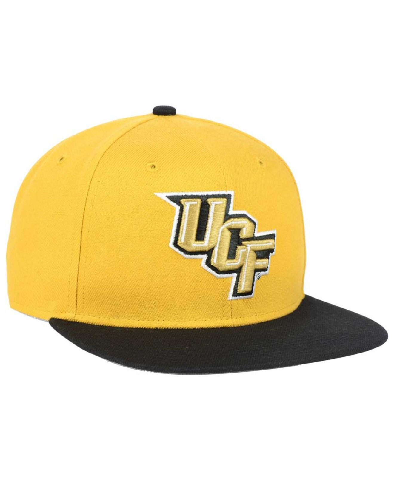 best service 0848d e749a ... new style lyst 47 brand ucf knights sure shot snapback cap in yellow  for men faf55