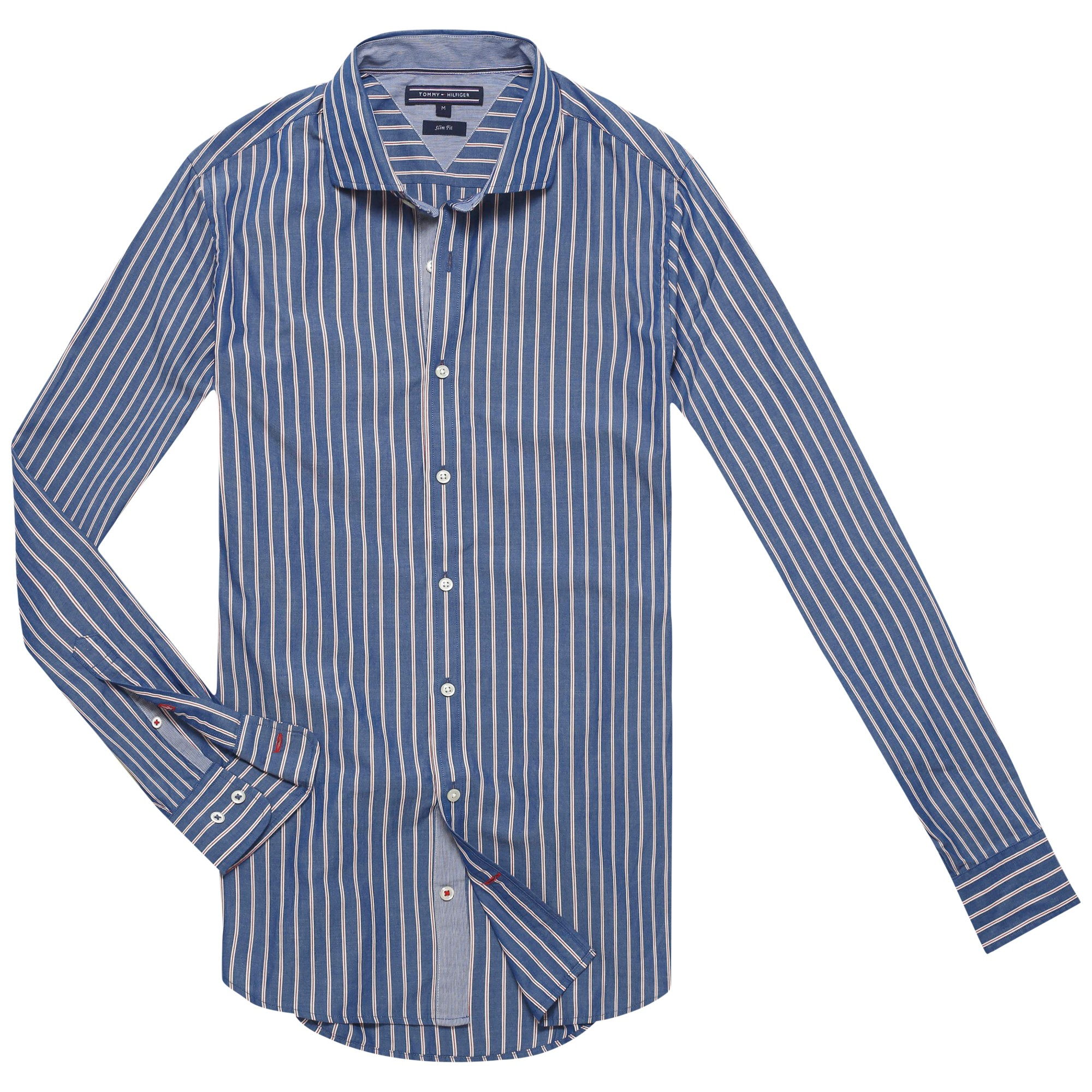 a3f3c226 Tommy Hilfiger Sunland Stripe Shirt in Blue for Men - Lyst