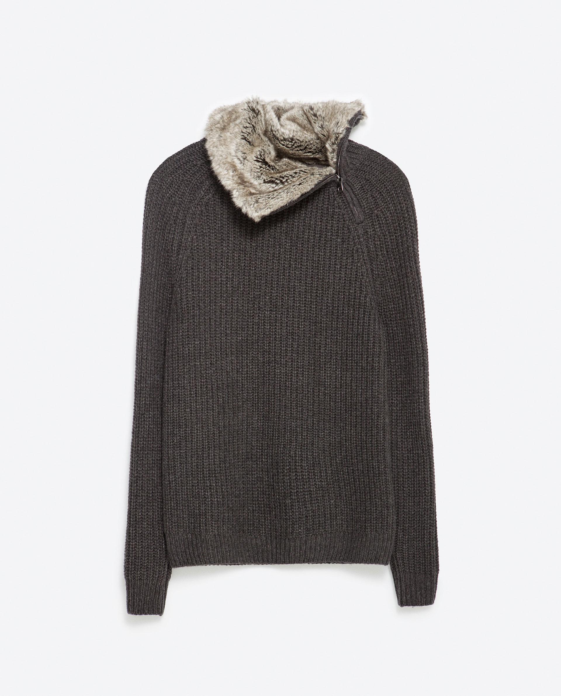 Men'S Cardigan Polyester Sweater Acrylic 71