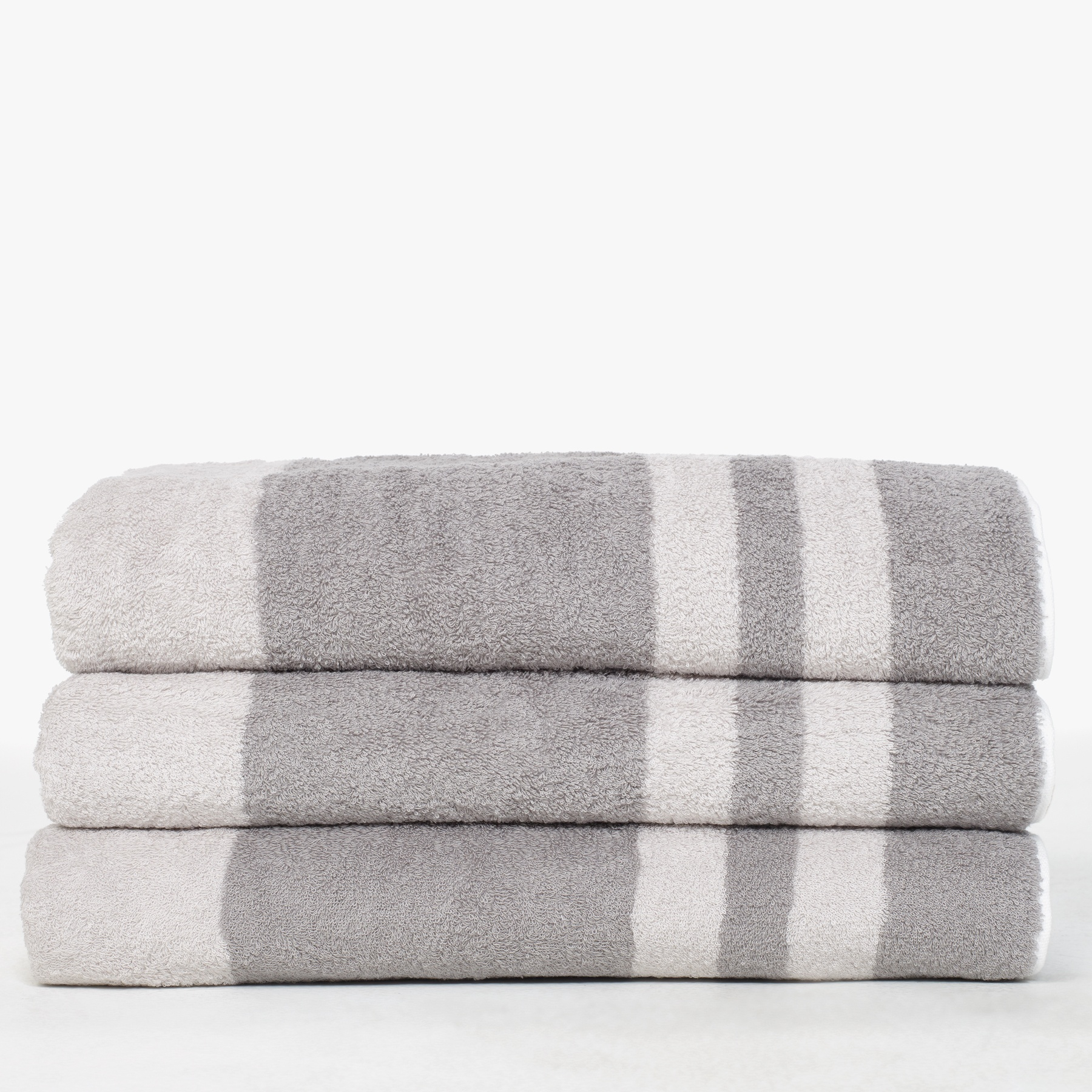 lyst james perse wide stripe beach towel in gray for men. Black Bedroom Furniture Sets. Home Design Ideas