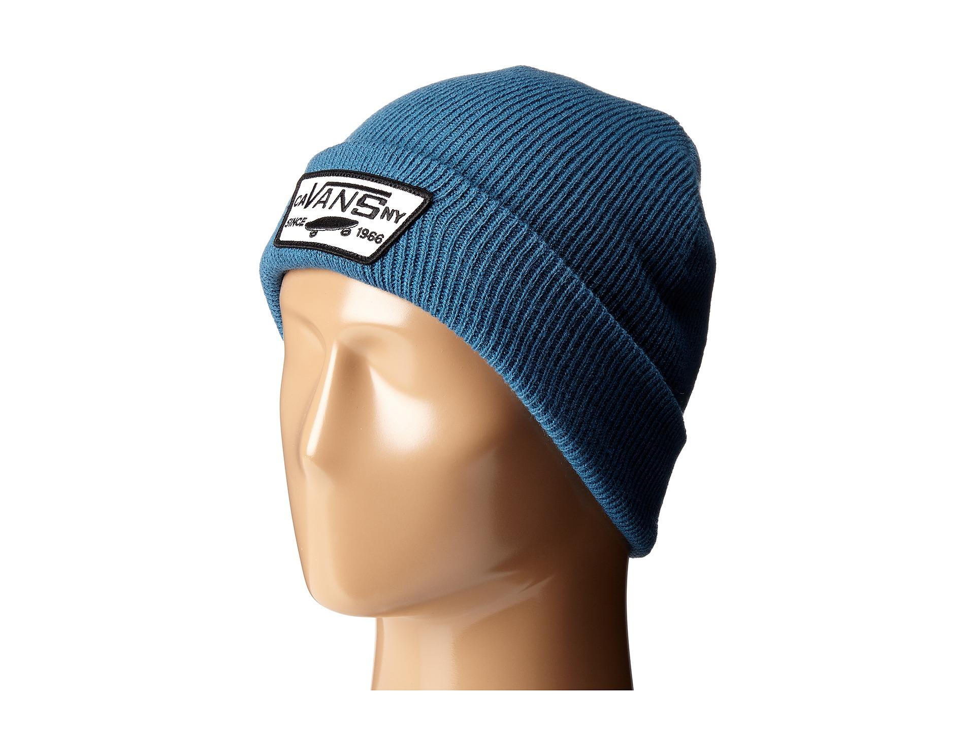 4ffd5b10a55 Lyst - Vans Milford Beanie in Blue for Men