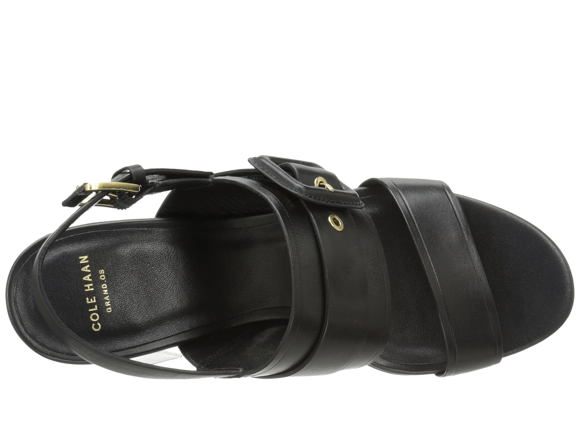 7d314b04e9 Lyst - Cole Haan Amavia High Sandal in Black