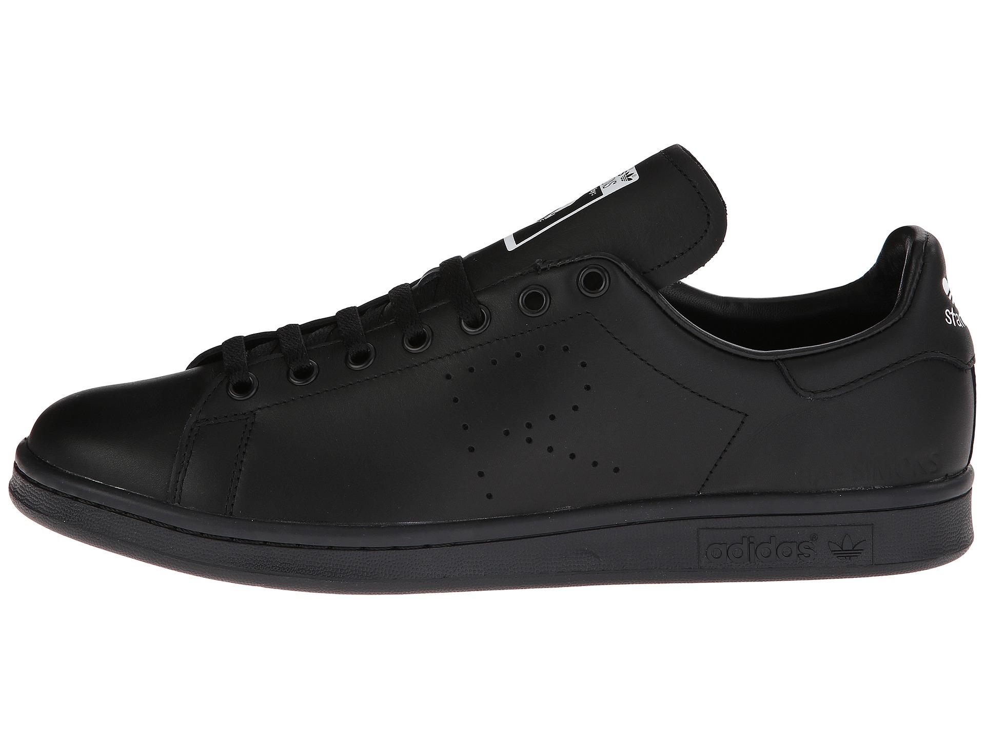 193891e49d14 Lyst - Adidas By Raf Simons Simons Stan Smith in Black