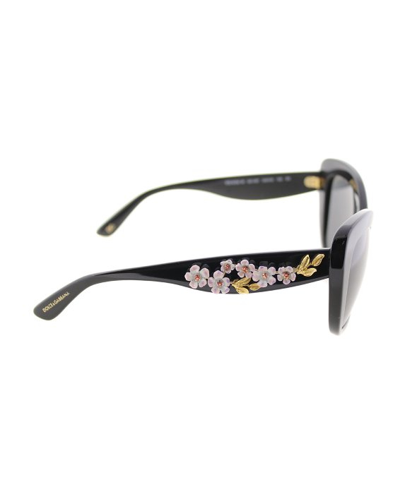 98c1ed182b44 Lyst - Dolce   Gabbana Dg4230m 501 87 Black With Almond Flowers Cat ...