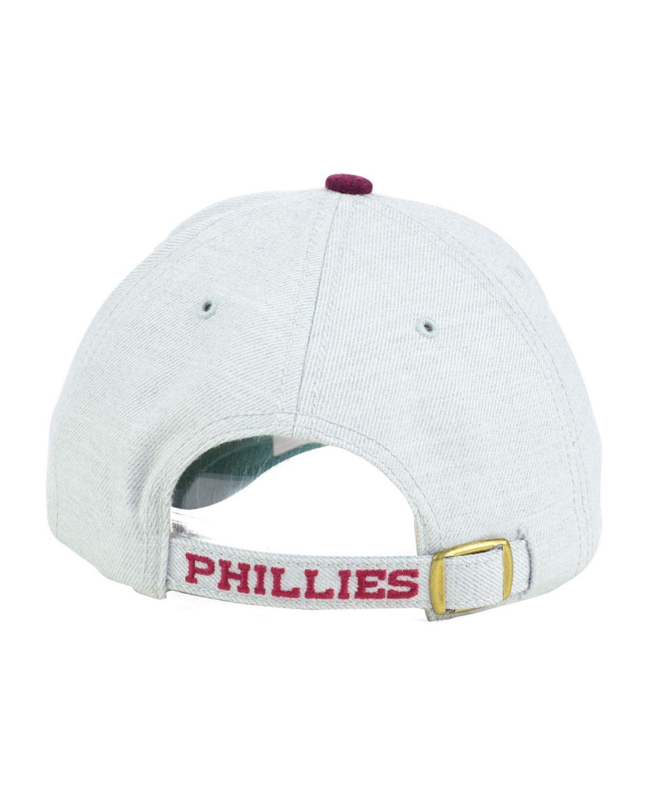 promo code 9e3d3 4f10a 47 Brand Philadelphia Phillies Munson Mvp Cap in Gray for Men - Lyst