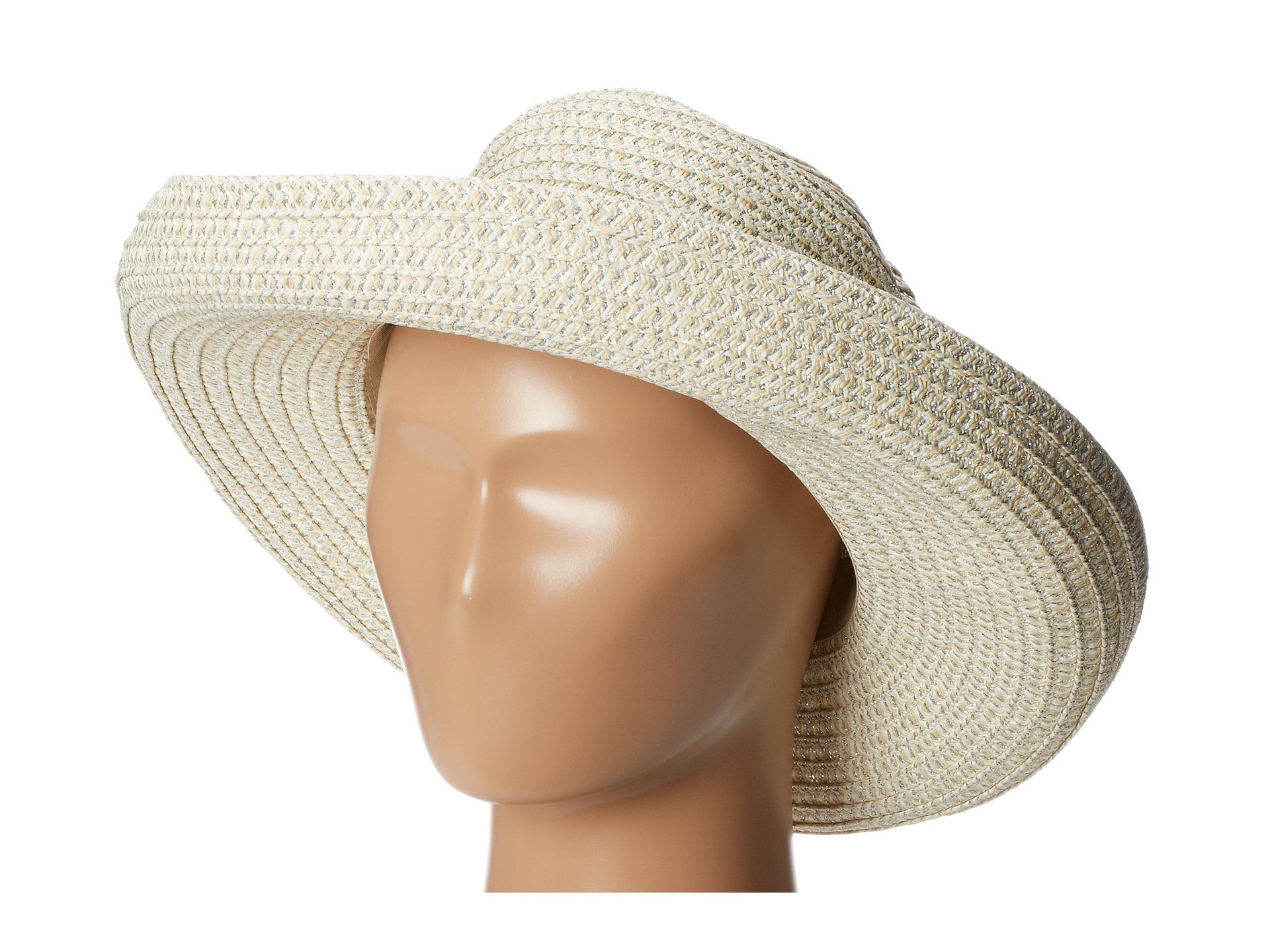 b716817f400 Lyst - San Diego Hat Company Pbm1016 Paper Kettle Brim Hat in Metallic