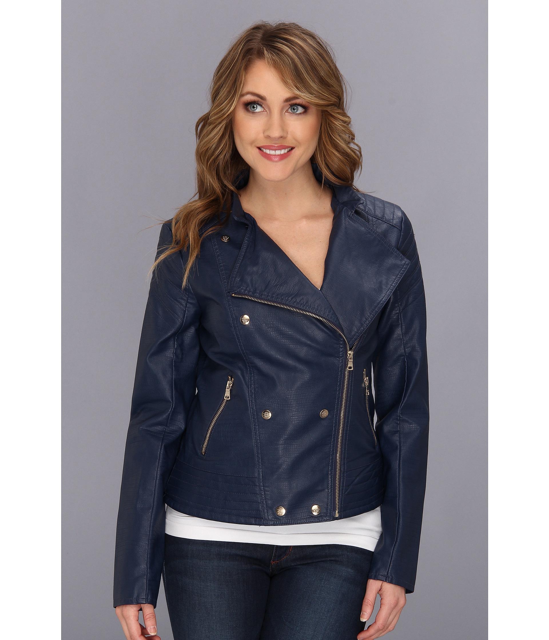 Jessica simpson faux leather jacket