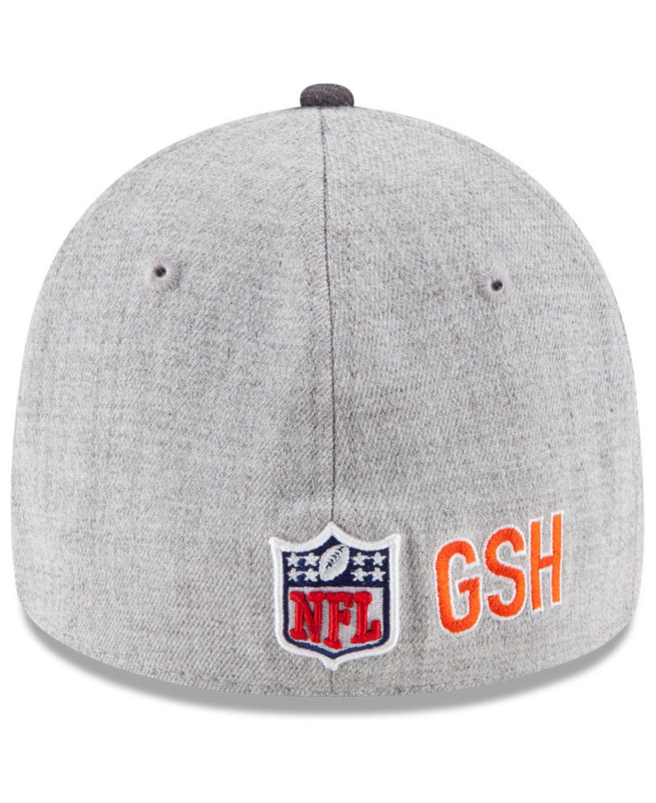 info for 82716 557cc Lyst - Ktz Chicago Bears Breast Cancer Awareness 39thirty Cap in Gray