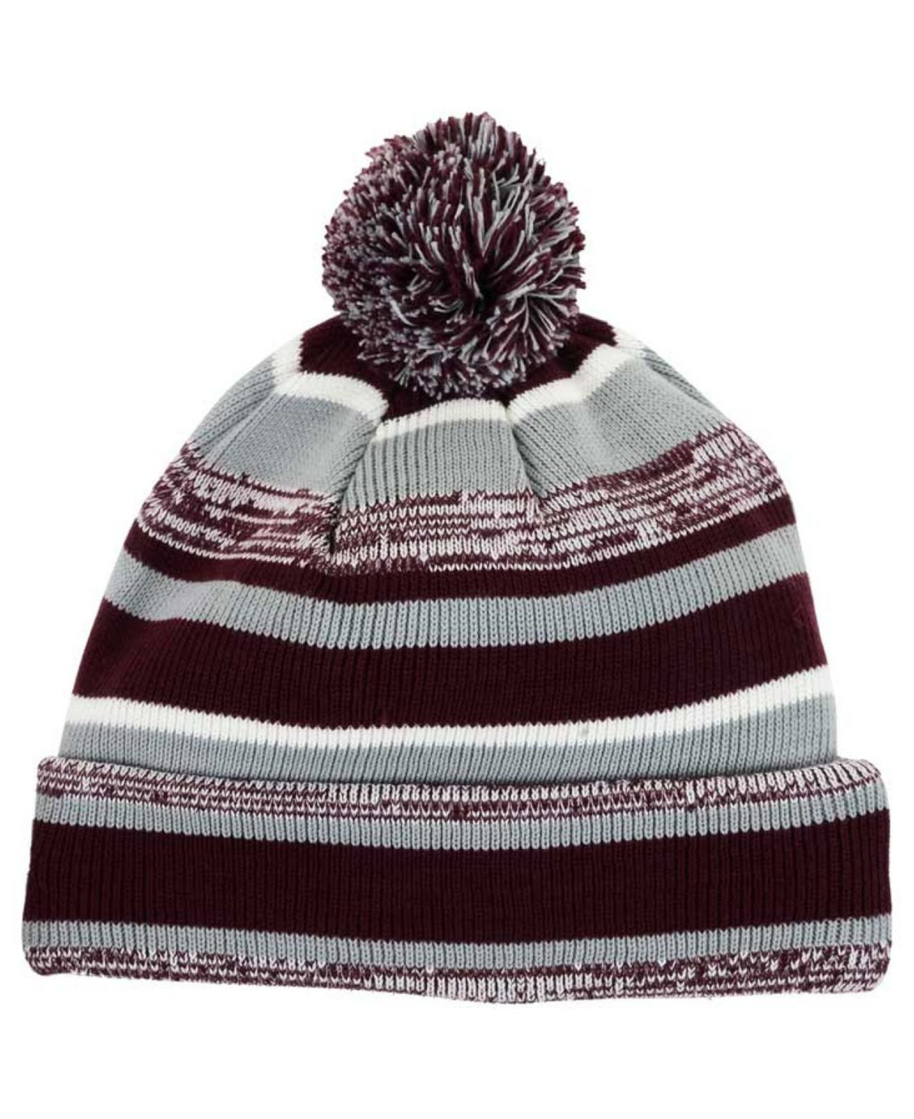 best sneakers 84c2d a179f ... coupon code lyst ktz texas am aggies sport knit hat in purple for men  d9ffe 6e0ab