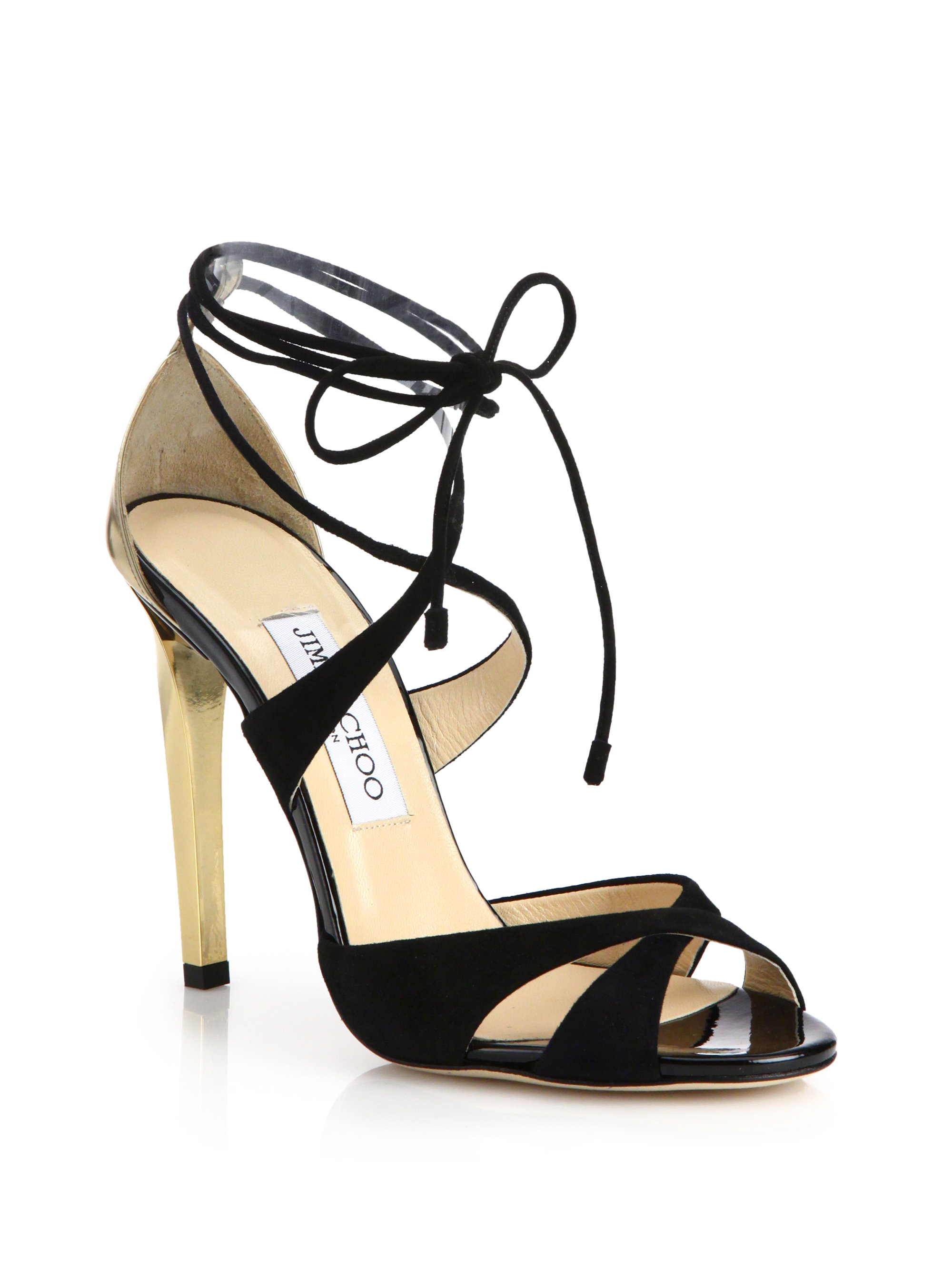 Jimmy Choo Woven Tie Sandals really for sale 100% authentic for sale cheap sale shopping online buy cheap for nice fashion Style online HpDrTifZ