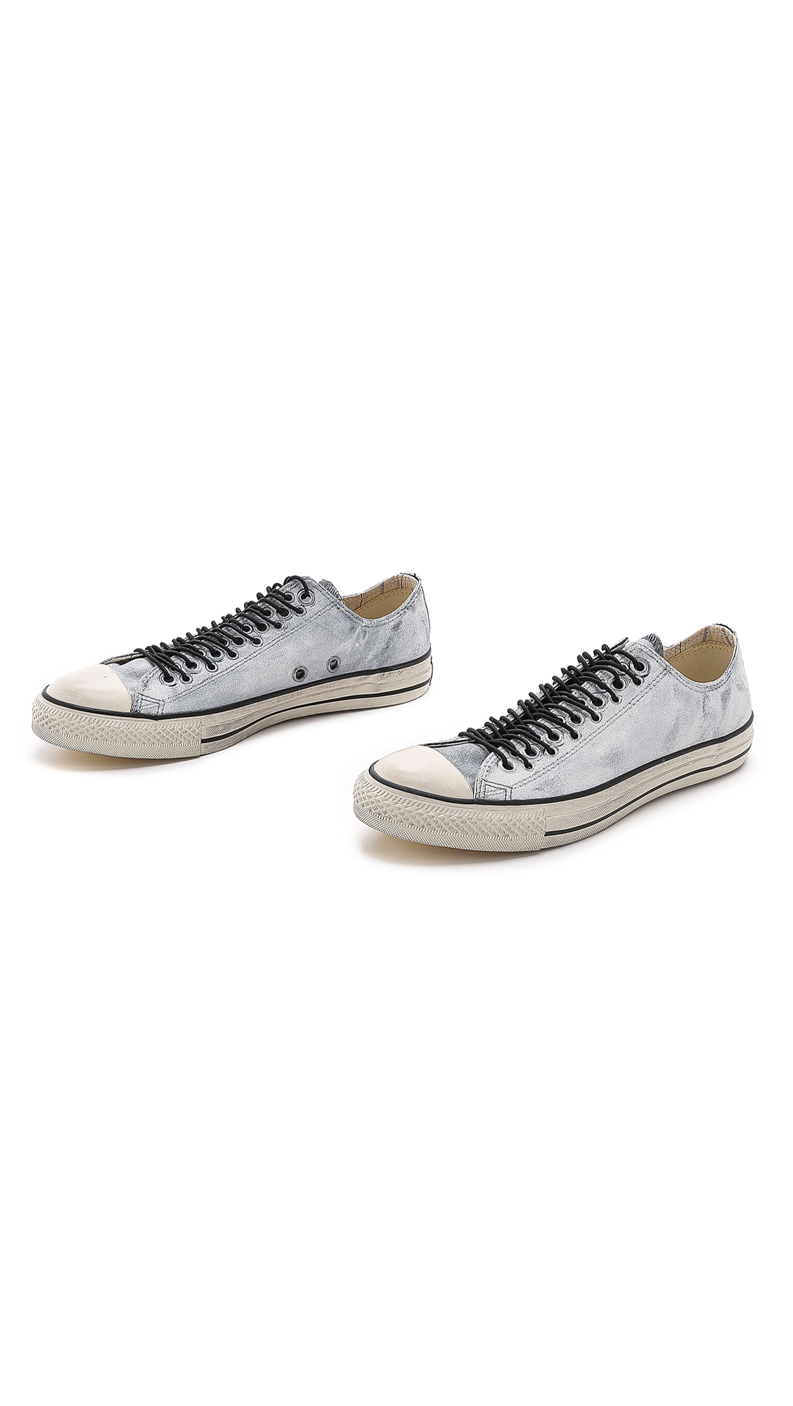 14a56fe9ea45 Converse All Star Multi Eyelet Sneakers in White for Men - Lyst