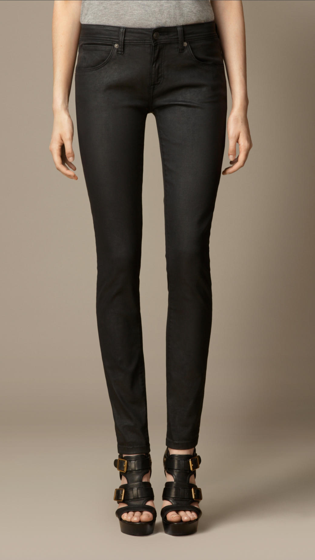 Free shipping and returns on Women's Coated Skinny Jeans at hereaupy06.gq