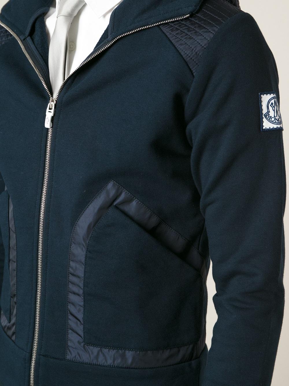 moncler gamme bleu hoodie