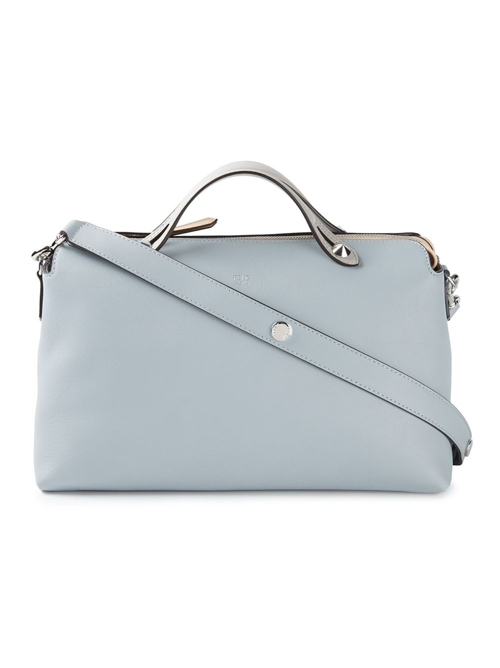 1874c526b75c Lyst - Fendi  By The Way  Tote in Blue
