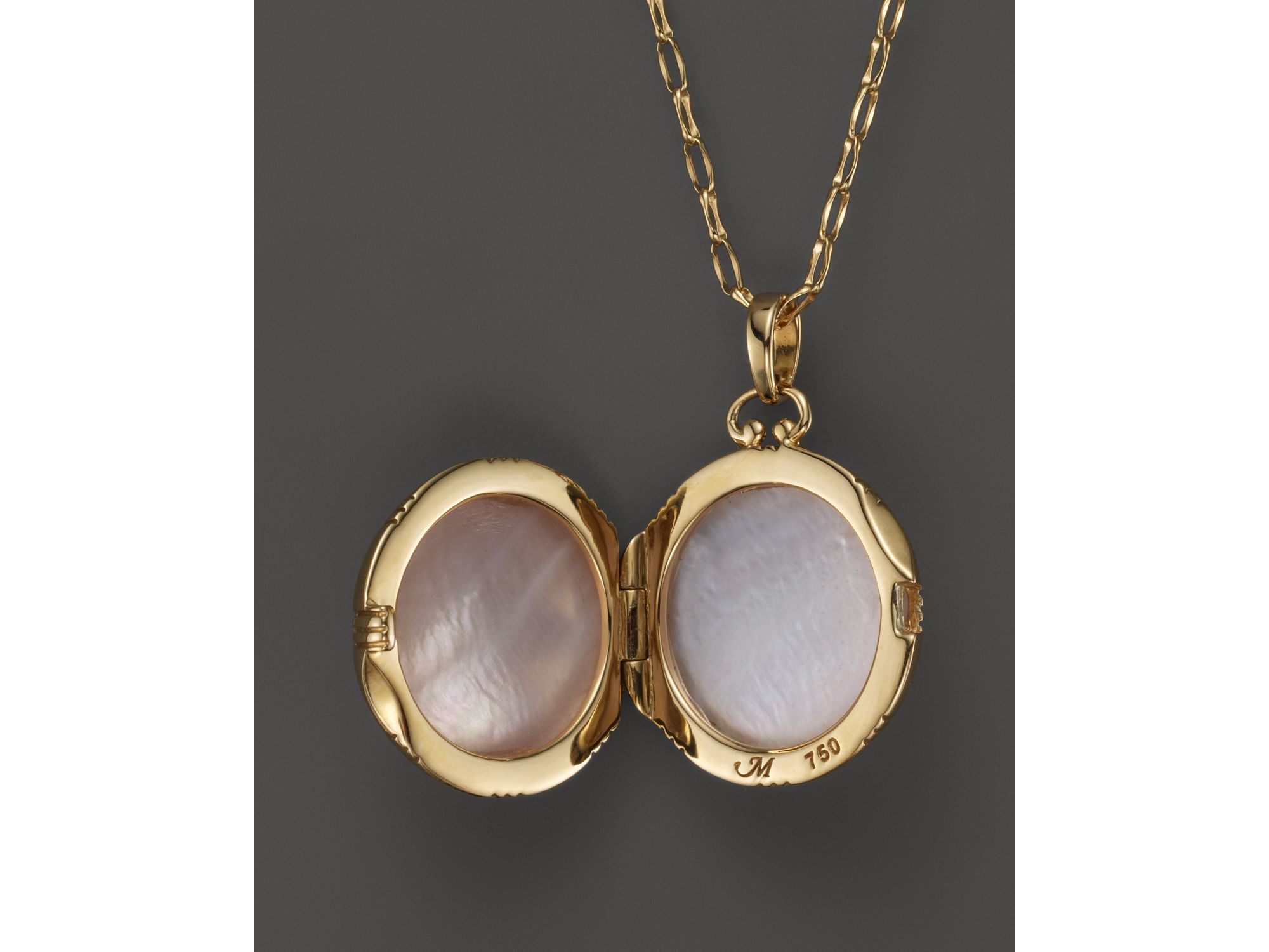 pearl june heart yellow by otis otisjaxonsilverjewellery lockets original locket product puffed necklace gold