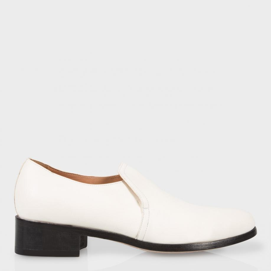 203339a6a76 Paul Smith Men s Off-white Buffalino Leather  lloyd  Loafers in ...
