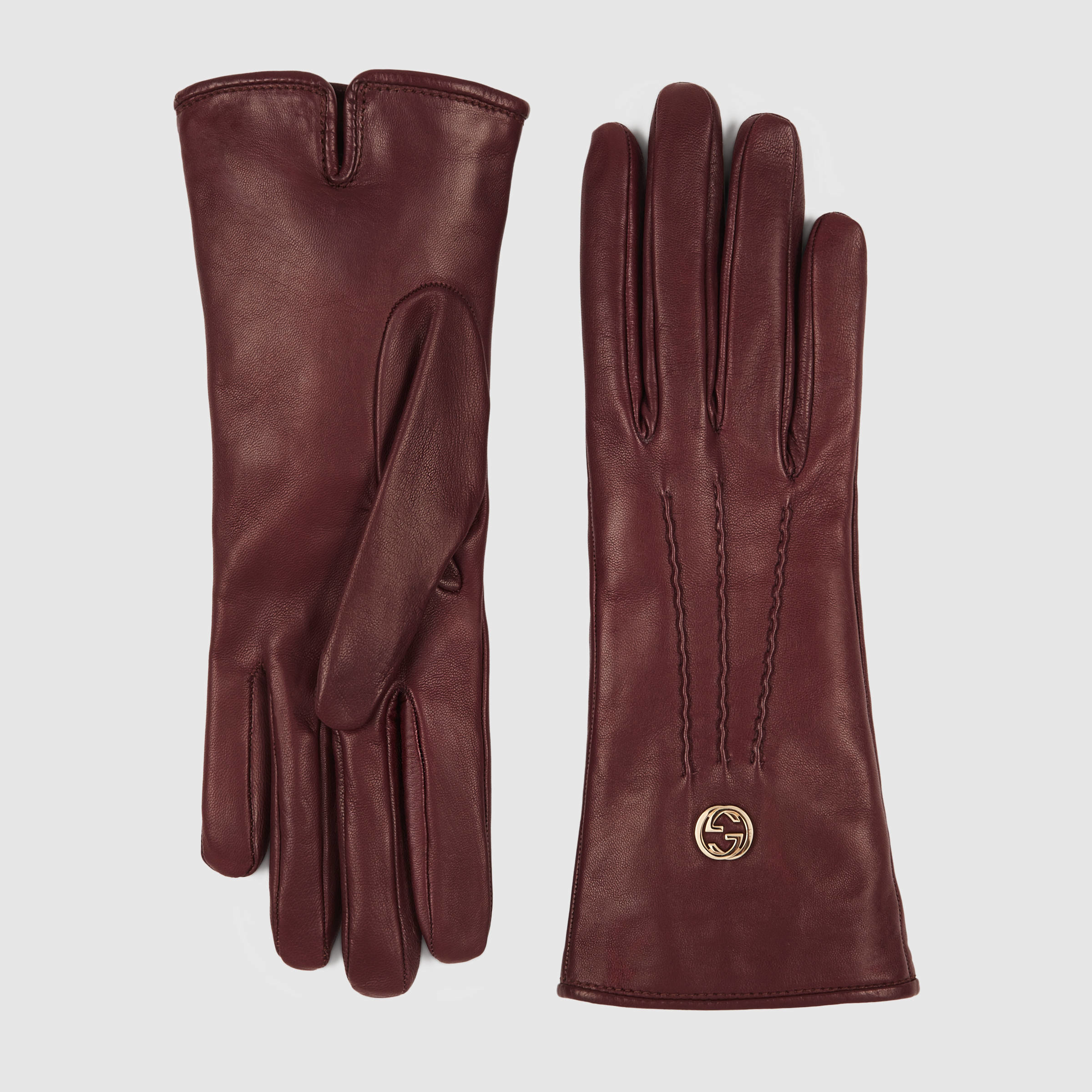 Womens leather gloves purple - Gallery Men S Leather Gloves