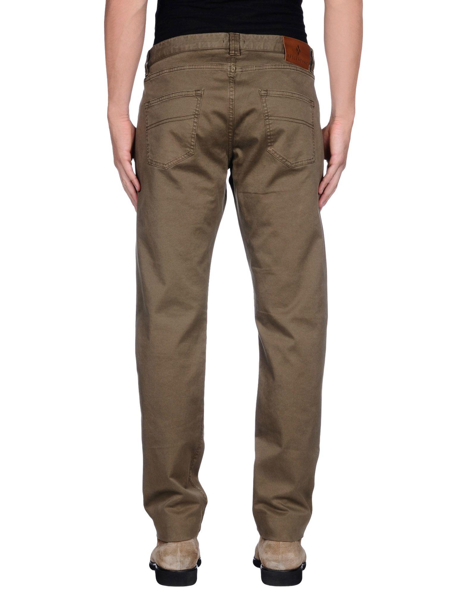 Lyst Ballantyne Casual Trouser In Green For Men