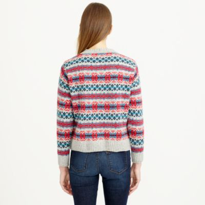 J.crew Harley Of Scotland Fair Isle Sweater | Lyst