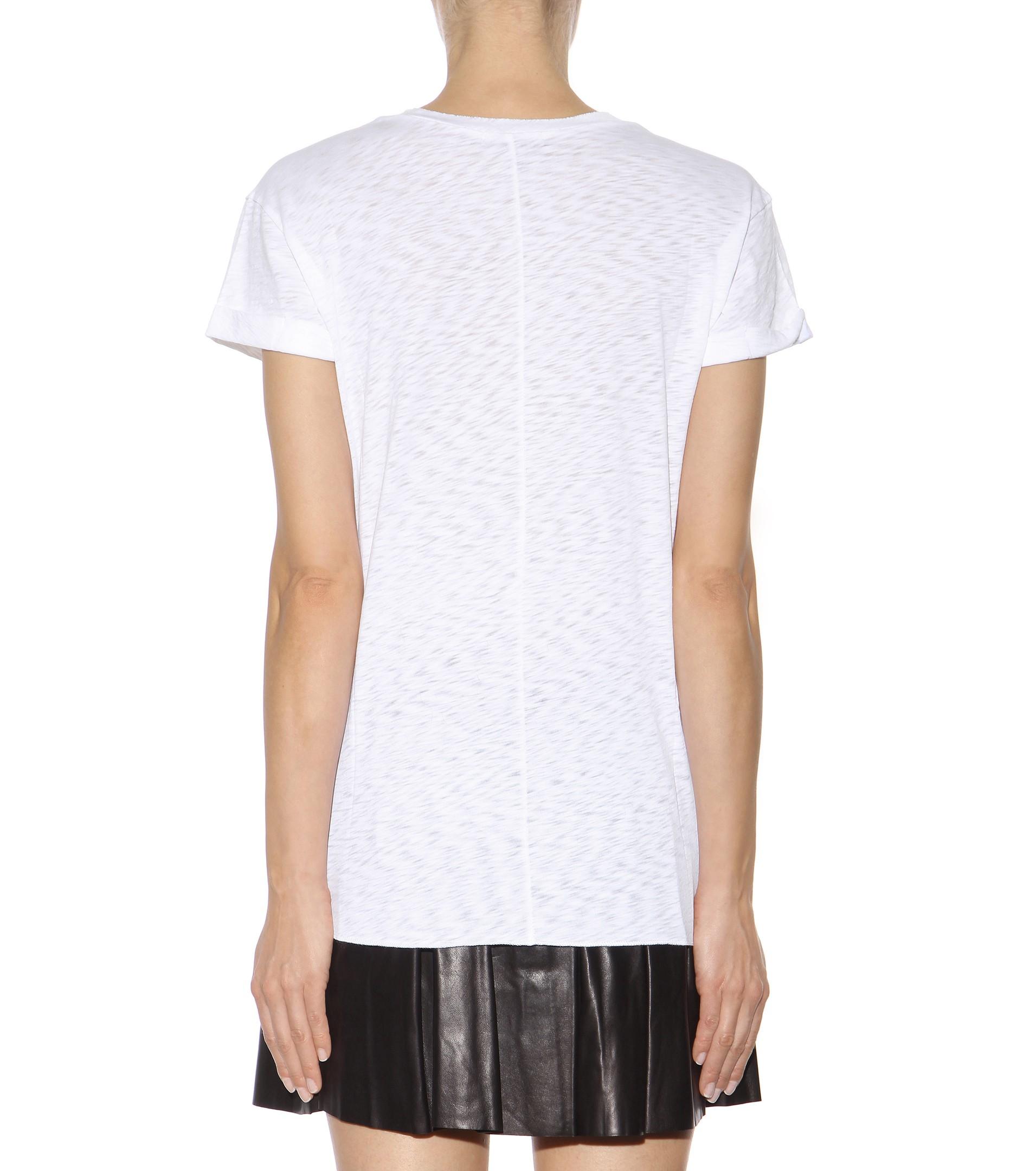 Rag Bone The Pocket Cotton T Shirt In White Lyst