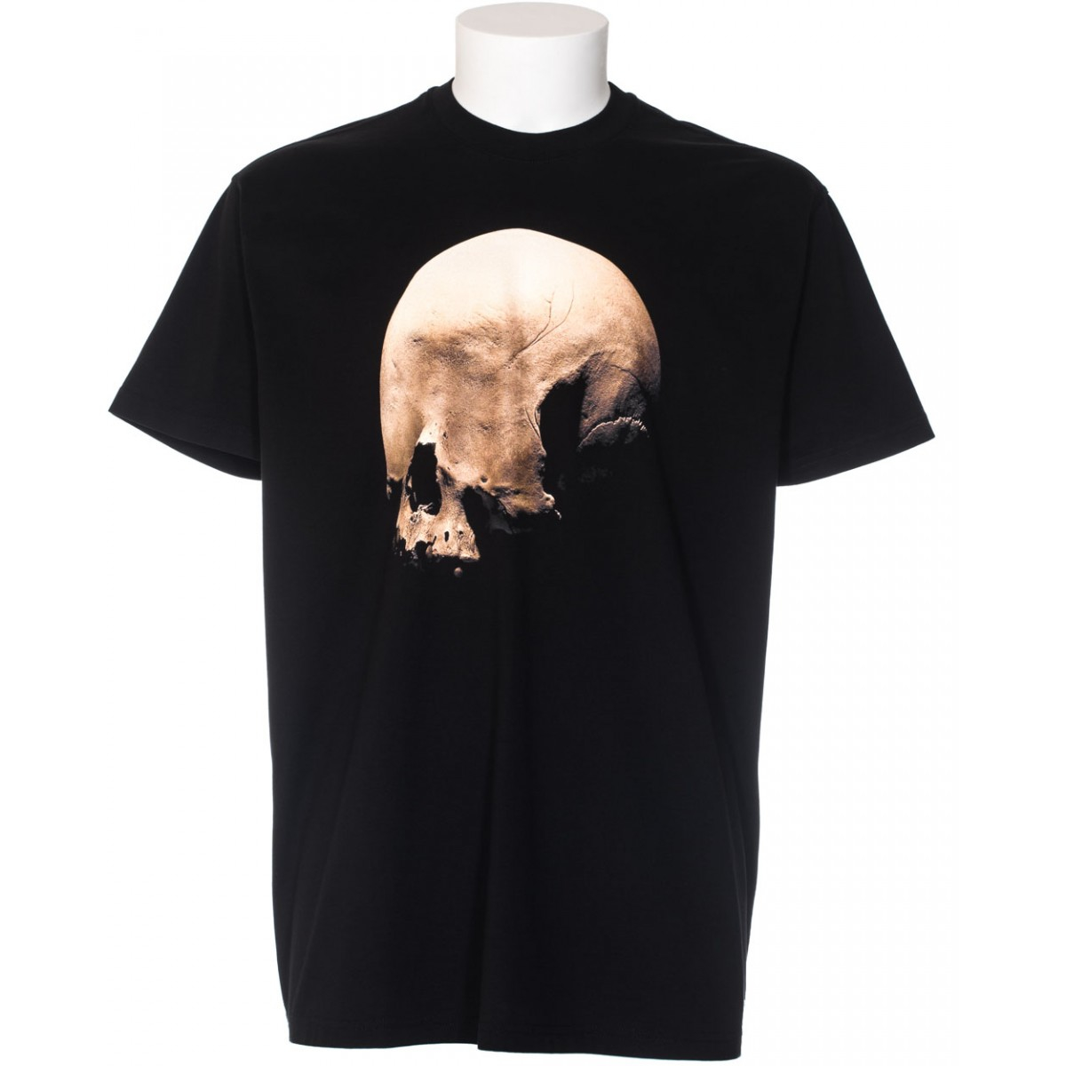 givenchy skull print cotton t shirt in black for men lyst. Black Bedroom Furniture Sets. Home Design Ideas