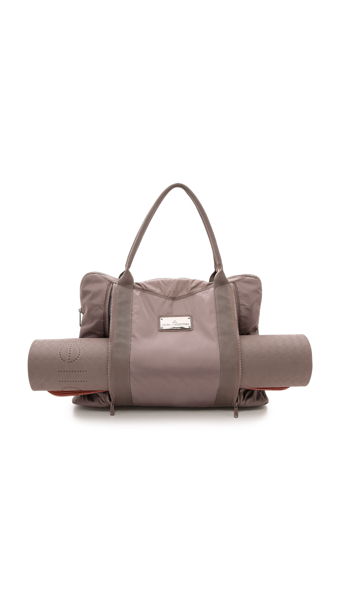 Lyst Adidas By Stella Mccartney Yoga Bag Cement Grey