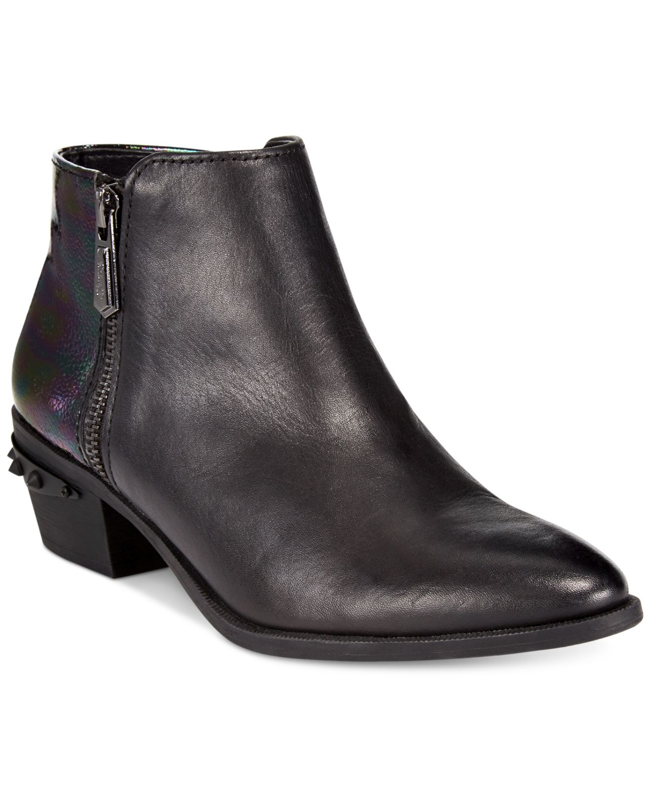 fe578a938373 Lyst - Circus by Sam Edelman Holt Booties in Black