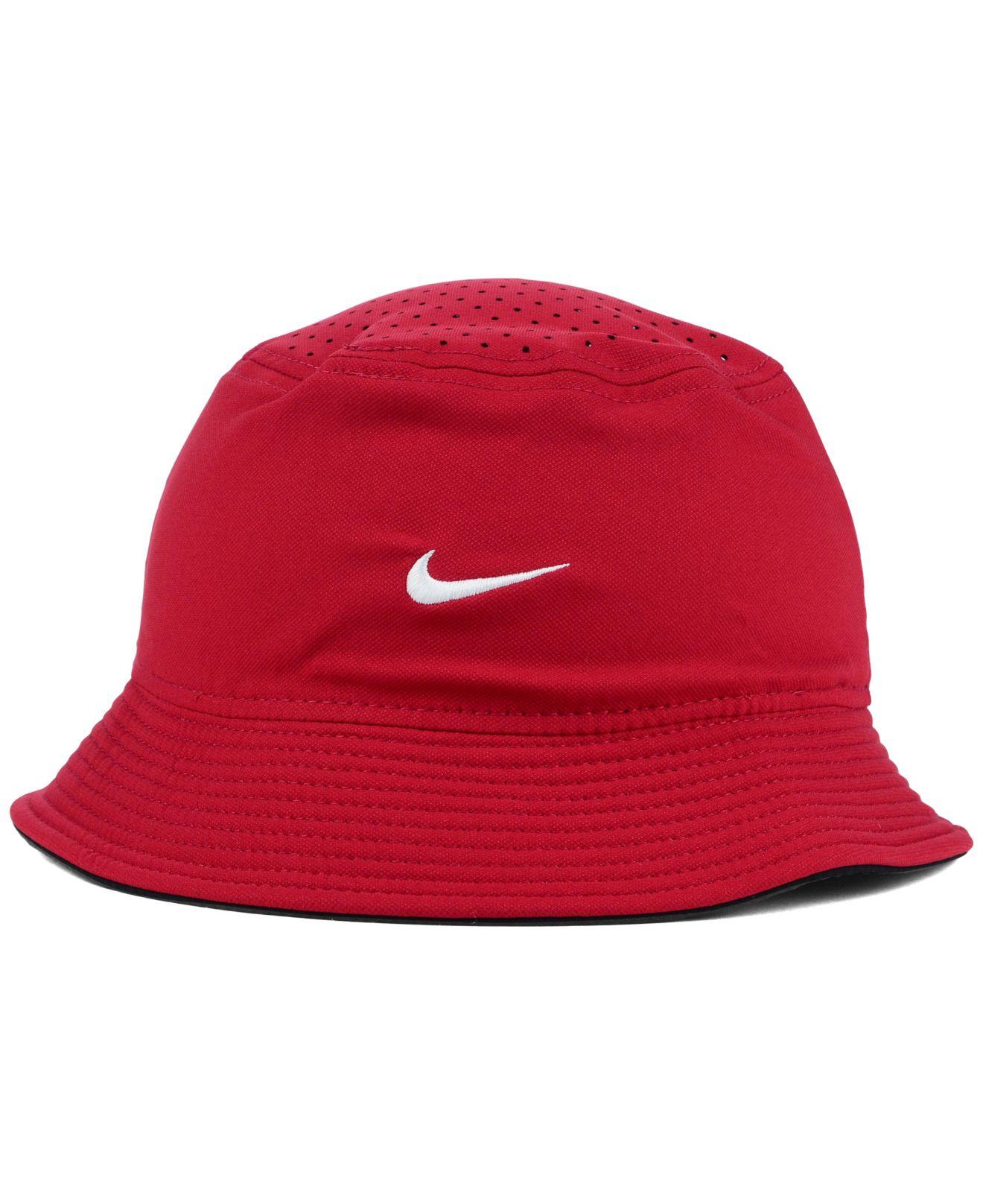 766a5bef227de ... closeout lyst nike alabama crimson tide vapor bucket hat in purple for  men 3de2b a85f4