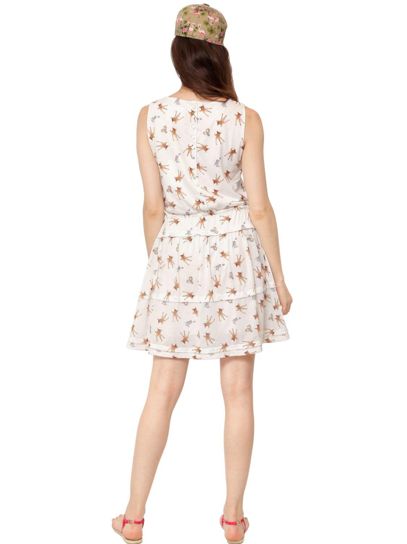 Lyst Paul Amp Joe Bambi Printed Jersey Dress In White