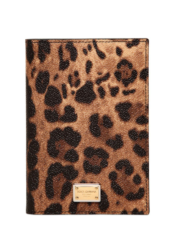 Dolce & Gabbana Logo passport cover FPtuhcHU9M
