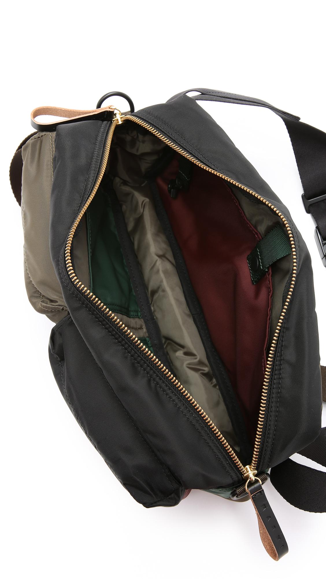 Lyst - Marni Porter X Bandolier Shoulder Bag in Green for Men