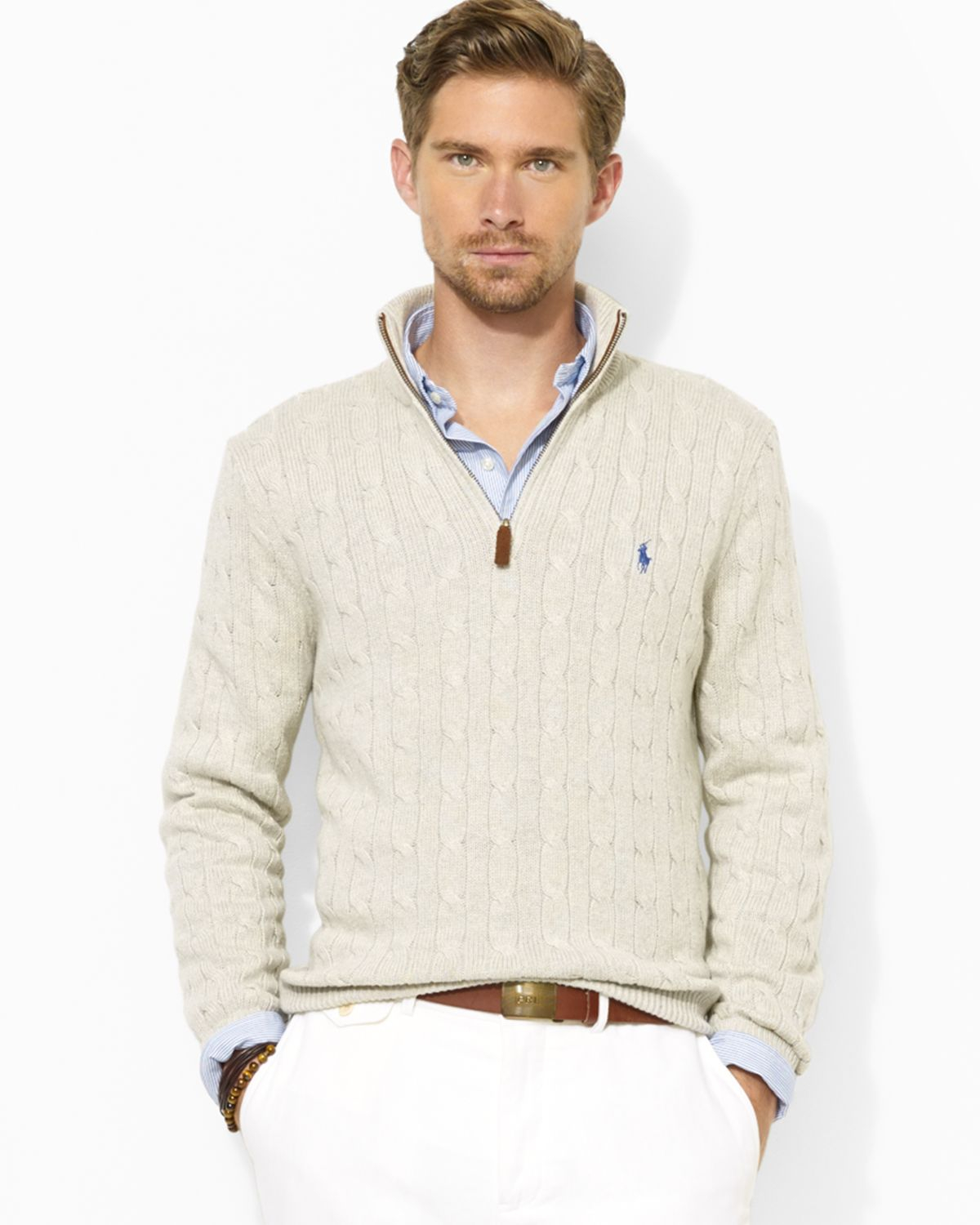 ralph-lauren-gray-polo-half-zip-cable-knit-tussah-silk-sweater -product-1-16506163-0-618316020-normal.jpeg