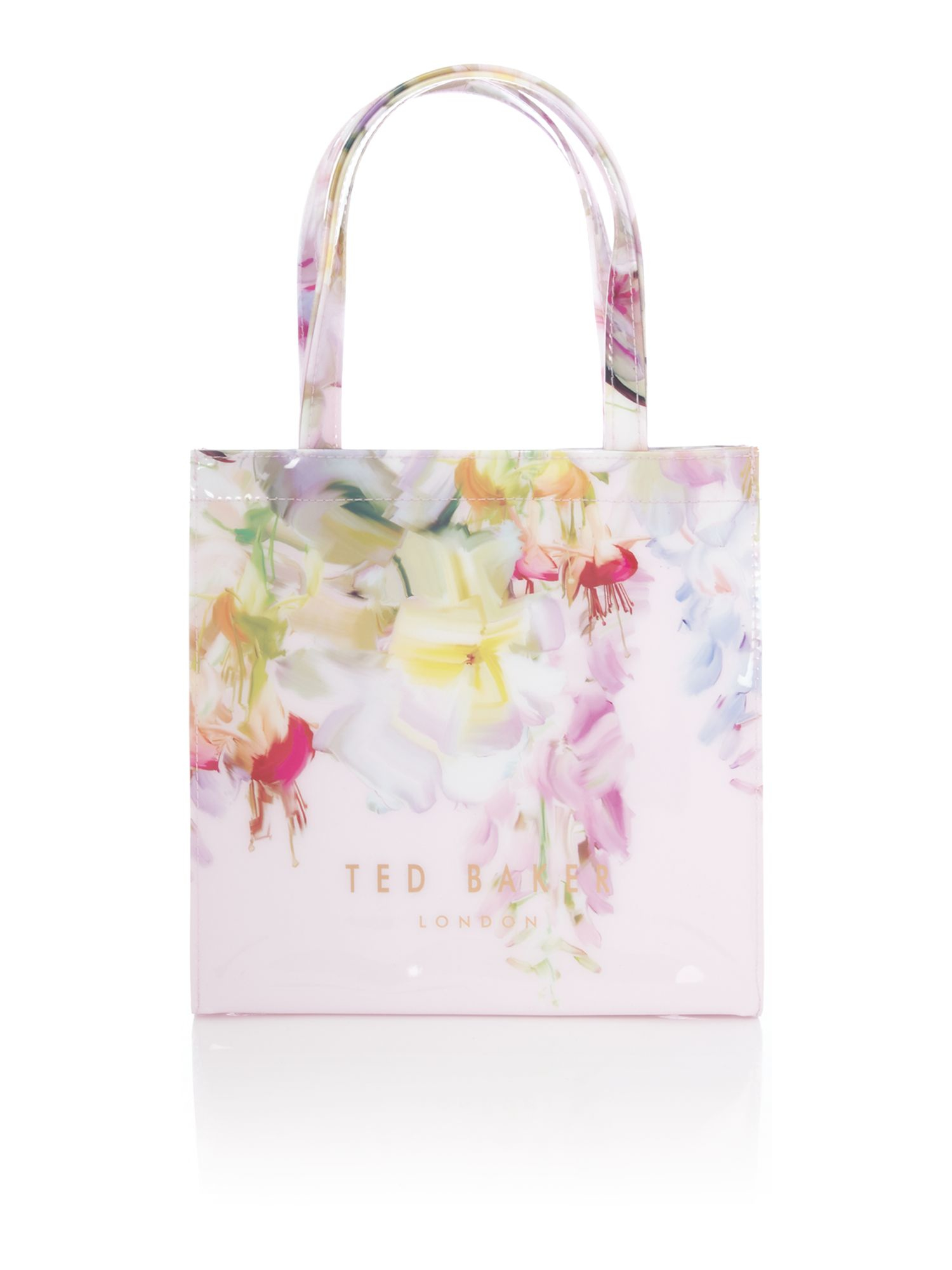 Ted Baker Lilicon Light Pink Floral Small Bowcon Tote Bag ...